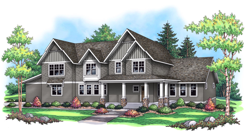 Custom craftsman style home builders home design and style for Custom craftsman home builders