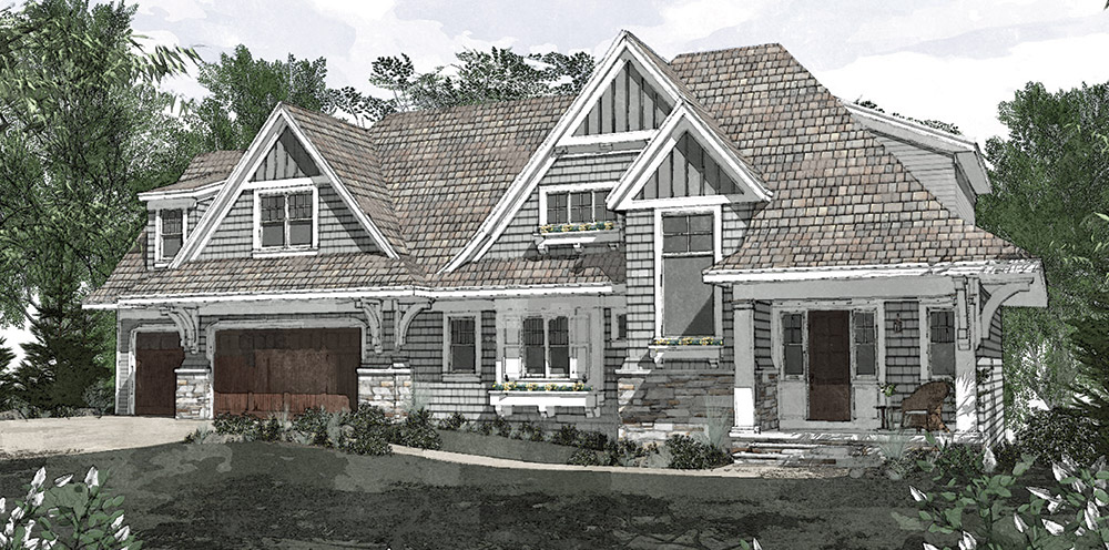 This Amazing Cottage Inspired Residence Feels Right At Home In Its Wayzata Neighborhood The Steeply Pitched Roofline Sweeps Down With A Graceful Flare