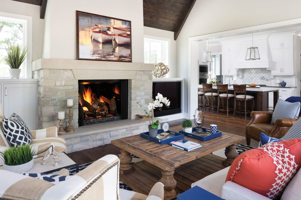 Fireside Hearth Home Heat Glo Artisan Home Tour